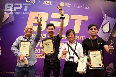 2017 Boyaa Poker Tour Macau Final Table is Set; Vietnam Wins Squad Event