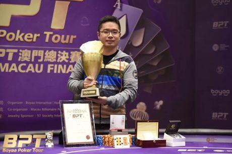 Taiwan's Lin Hong Chang Wins 2017 BPT Macau Final for HK$1.27 Million