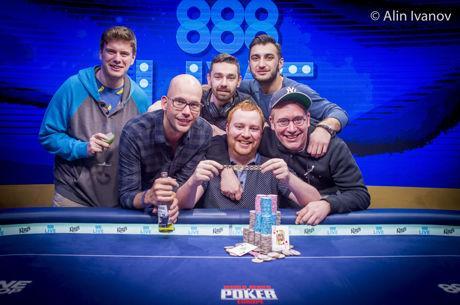 WSOP Europe - Niall Farrell wint de €25k High Roller voor €745.287