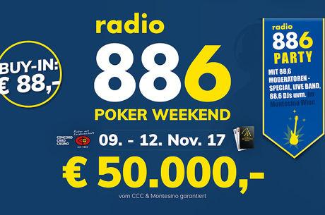 88.6 Poker Weekend Special im Montesino