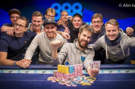 WSOP Europe - Nitsche wint vierde WSOP-bracelet in High Roller for One Drop (€3.487.463)
