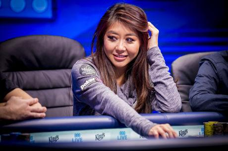 Maria Ho Bags Chip Lead Again with Six Remaining in WSOPE Main Event