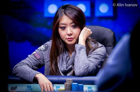 World Series of Poker Europe Main Event, Tag 5: Maria Ho vorne