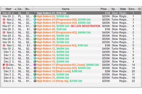 "PokerStars lanseaza ""Online High Rollers Series"", o serie de turnee cu 11,4 M $..."
