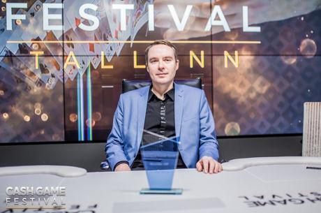 Heiti Riisberg bricht Rekord beim Cash Game Festival Tallinn