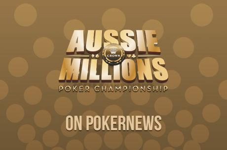 PokerNews covert die 2018 Aussie Millions