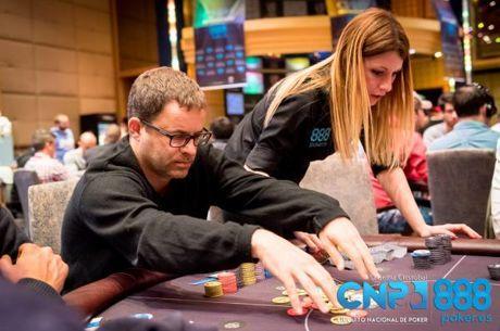 Marc Geles lidera el Día 1a del que promete ser el mejor Main Event de la historia del CNP