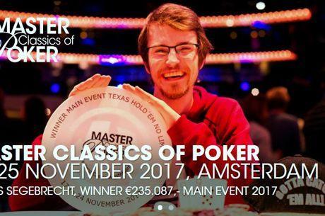 Masters Classics : Claas Segebrecht triomphe à Amsterdam, Bart Lybaert (2e) et John Juanda...