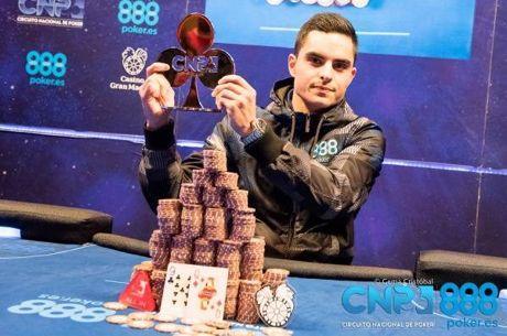 Roberto Zaldívar gana la Gran Final del CNP888 2017; José Luís Calvo se va a Las Vegas