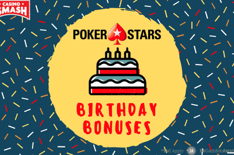 PokerStars Casino's 3rd Birthday: Get 3 Welcome Bonuses!