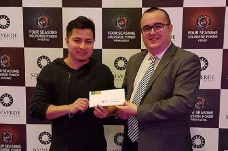 Rafael Ugarte Campeão do Ranking ECT Poker Tour 2017