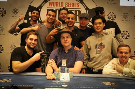 Johan Lees Wins 2017 WSOP Sydney Opening Event for $105,416