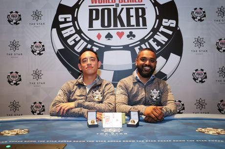 Sid Guna, Justin Wong Win the 2017 WSOP Sydney Teams Event
