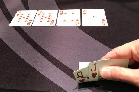 Playing a Flush on a Paired Board
