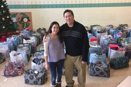 Poker Pro Bernard Lee Fills 'Wish List' of 40 Boston Homeless Families