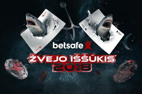 """""""Betsafe Žvejo Iššūkis"""" grįžta su 100 tūkstančių eurų garantija"""