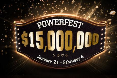 First partypoker Powerfest of 2018 Has $15 Million Guaranteed