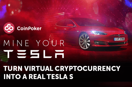 Play to Win a Tesla S Model at CoinPoker!