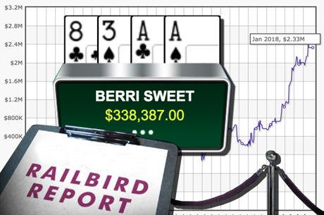 "Railbird Report: ""BERRI SWEET"" Becomes Biggest 2017 High-Stakes Winner"