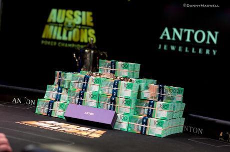 2018 Aussie Millions mit 400 Satellite Qualifikanten