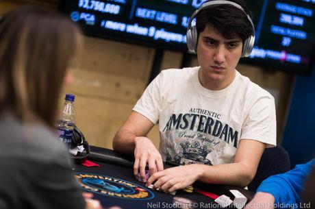 2018 PokerStars Caribbean Adventure (PCA) - Luca leidt finaletafel met Bonomo & Negreanu