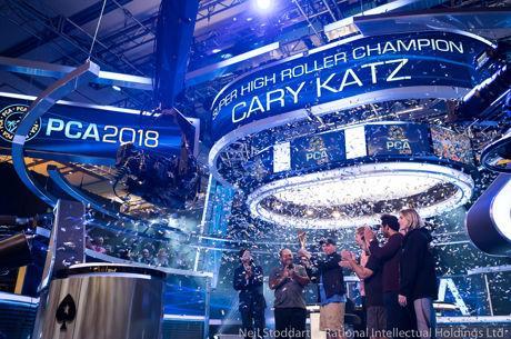 PCA 2018 : Cary Katz triomphe sur le SHR pour 1,5 million, Justin Bonomo runner-up pour 1...