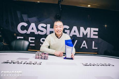 Gang Wang and Jon Kyte Make History at the Cash Game Festival London