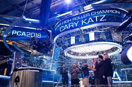 Cary Katz Comes From Behind to Win 2018 PCA $100K Super High Roller for $1,492,340