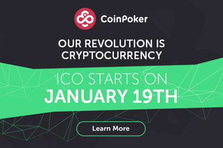 CoinPoker Stage I ICO to Launch on Jan. 19