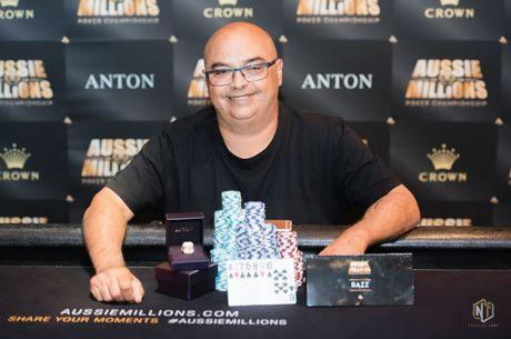 Salvatore Ribbera Ships the 2018 Aussie Millions Event #2: $2,500 H.O.R.S.E.