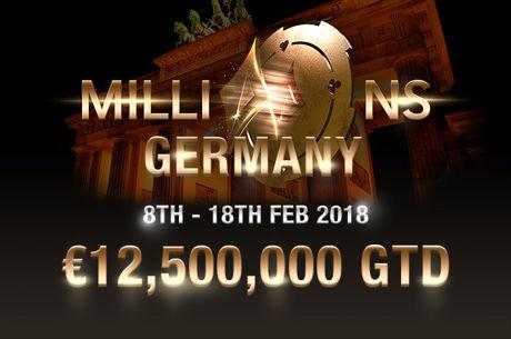 €12.5 Million is Guaranteed at the partypoker LIVE MILLIONS Germany Festival