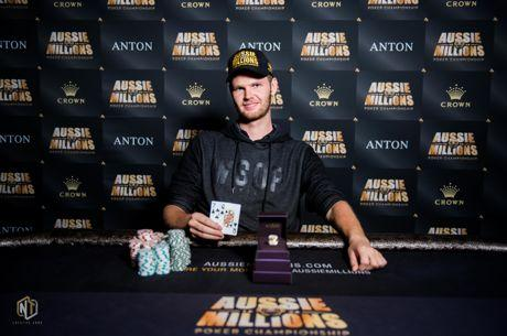 Bas de Laat Defeats Adam Agresta to Win Aussie Millions Event #5