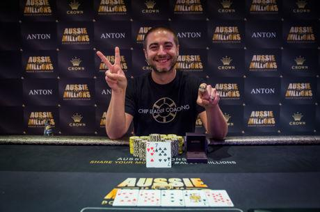 Chance Kornuth Ships Aussie Millions Event #6 for A$134,850