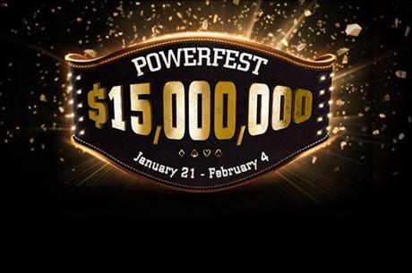 Powerfest Running Now at partypoker with $15 Million in Guaranteed Prizes