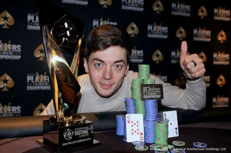 Dragos Trofimov wins the PokerStars Festival London High Roller