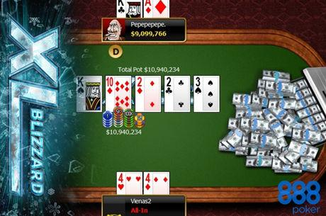 """888poker XL Blizzard: """"Pepepepepe."""" Wins the Main Event For $183,867!"""