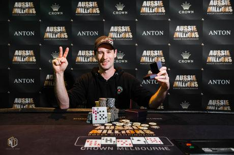 Eugene Portlen Ships Aussie Millions Event #8 for A$154,925