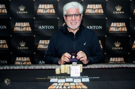 Roberto Damelian Wins Aussie Millions Event #14 (A$64,700) in 6.5 Hrs