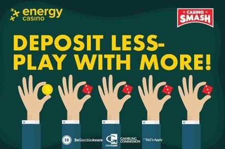 Energy Casino Welcome Offer: Double Your Money in One Click