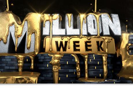 Winamax : Le calendrier de la Million Week