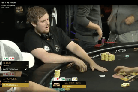 [VIDEO] Le Fold des Aussie Millions 2018