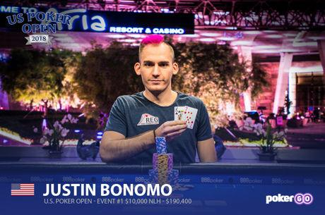 Justin Bonomo Wins the First US Poker Open Event