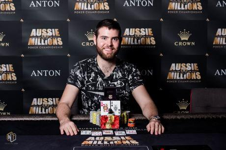 Jack Sinclair Outlasts a Star-Studded Final Table to Win Aussie Millions Event #17