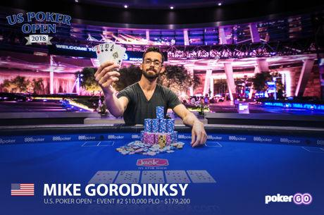 Mike Gorodinsky Wins US Poker Open Pot-Limit Omaha Title