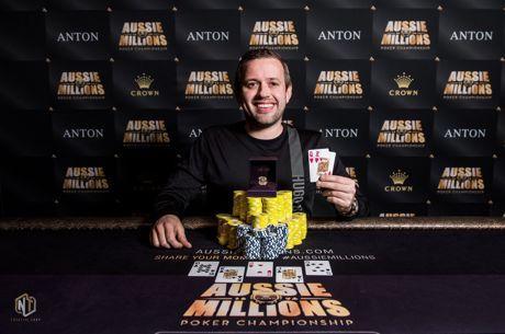 Aussie Millions - Kenny Hallaert wint de AU$1.000 NLHE Turbo voor AU$60.000!