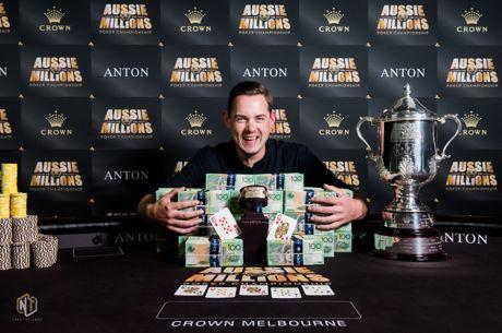 Toby Lewis Conquista Maior Aussie Millions de Sempre ($1,156,653)