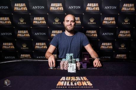 Felix Stephensen Ships Aussie Millions Event #19 for A$81,900