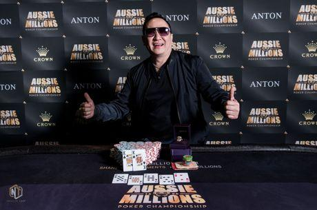 Michael Tchong Bests Mustapha Kanit to Win Aussie Millions Event #22