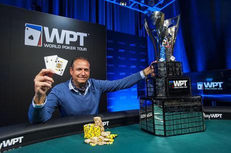 Eric Afriat Wins Second WPT Title at Borgata Winter Poker Open