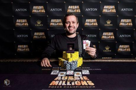 Kenny Hallaert Defeats Dzmitry Urbanovich to Win Aussie Millions Event #23